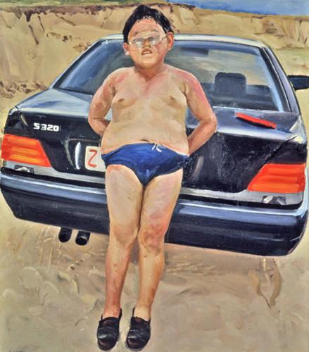 Liu Xiaodong, liu xiaodong beijing, china contemporary art, china modern art