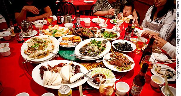 китайский застольный этикет, китай этикет за столом