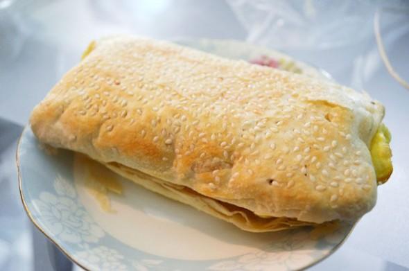 тайвань, завтрак, китайская еда, taiwan, typical breakfast, chinese food, shao bing