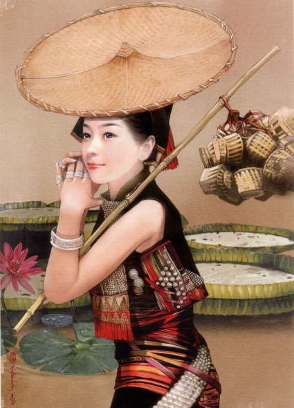 праздники китая, Пошуйцзе, праздник обливания водой, 泼水节