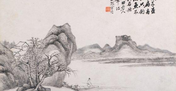 классическая живопись китая