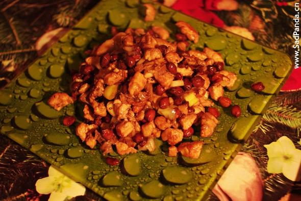 Куриные грудки с арахисом , 宫保鸡丁