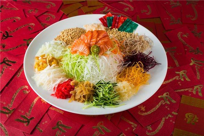 鱼生, рыбный салат