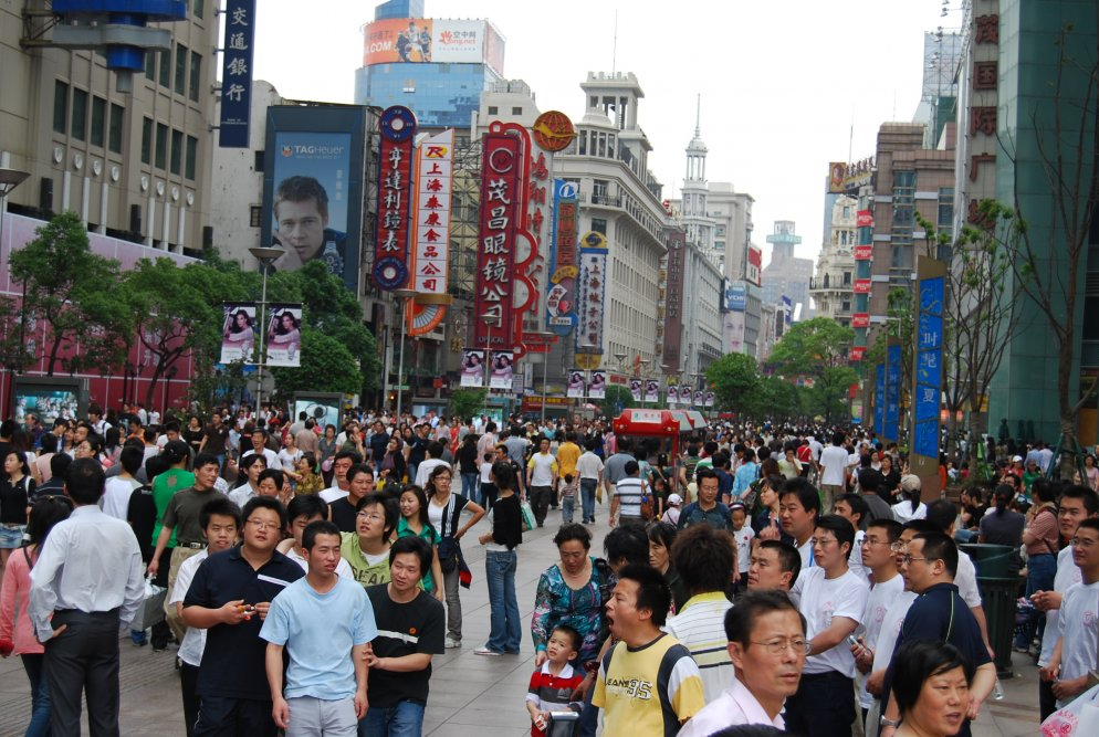 china, shanghai, nanjing road