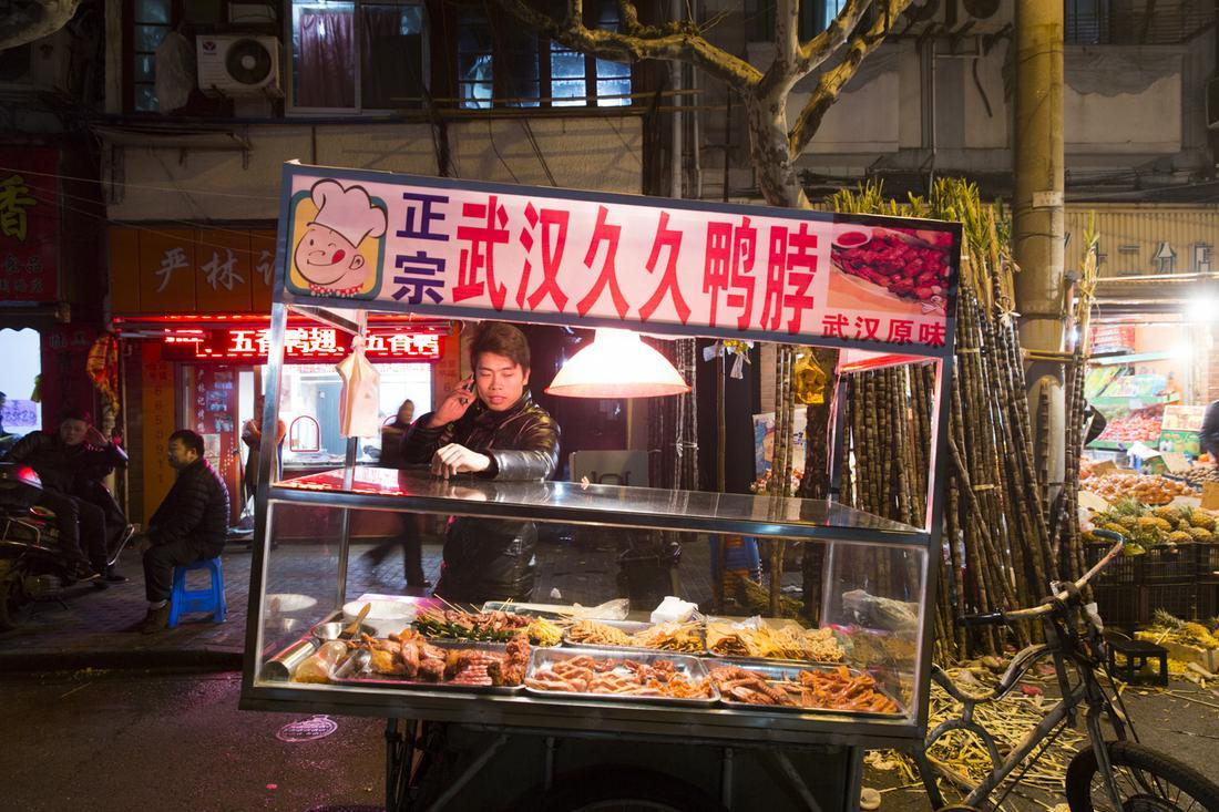шанхай уличная еда, китай уличная еда